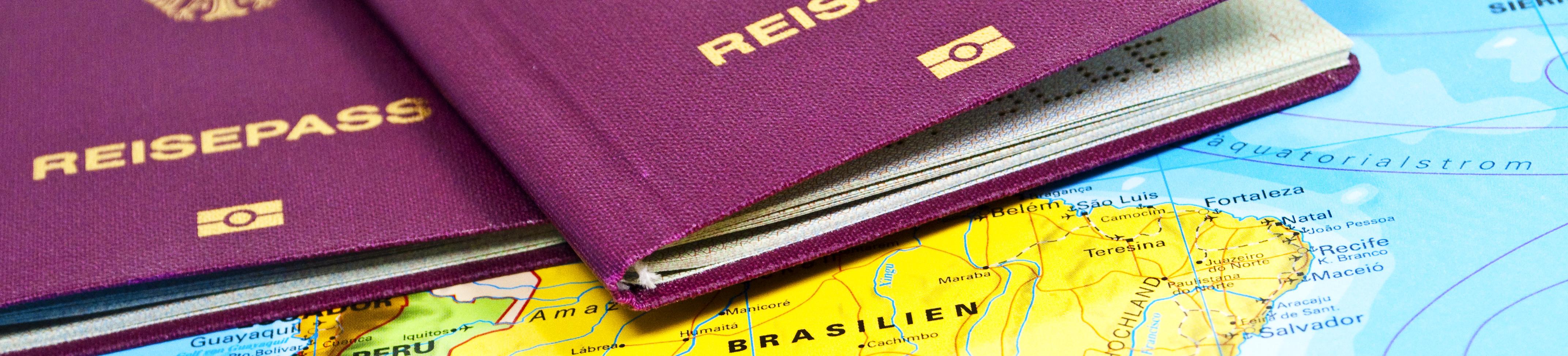 Passer à la douane avant son circuit au Brésil