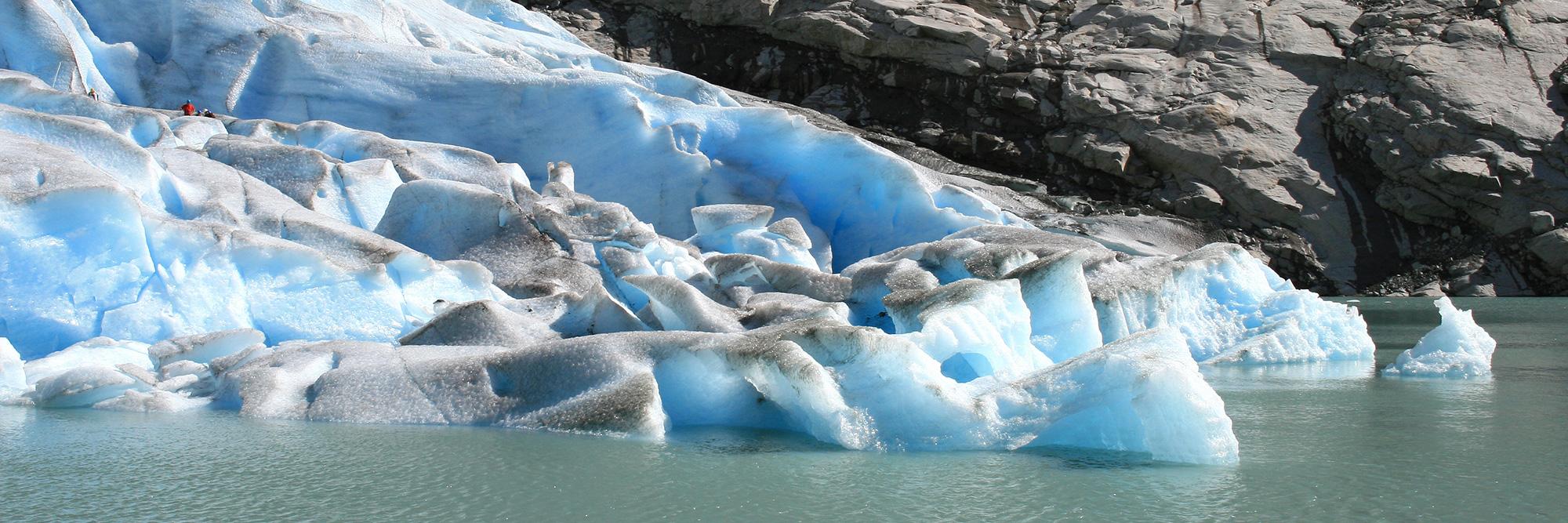 Approche du glacier Briksdal