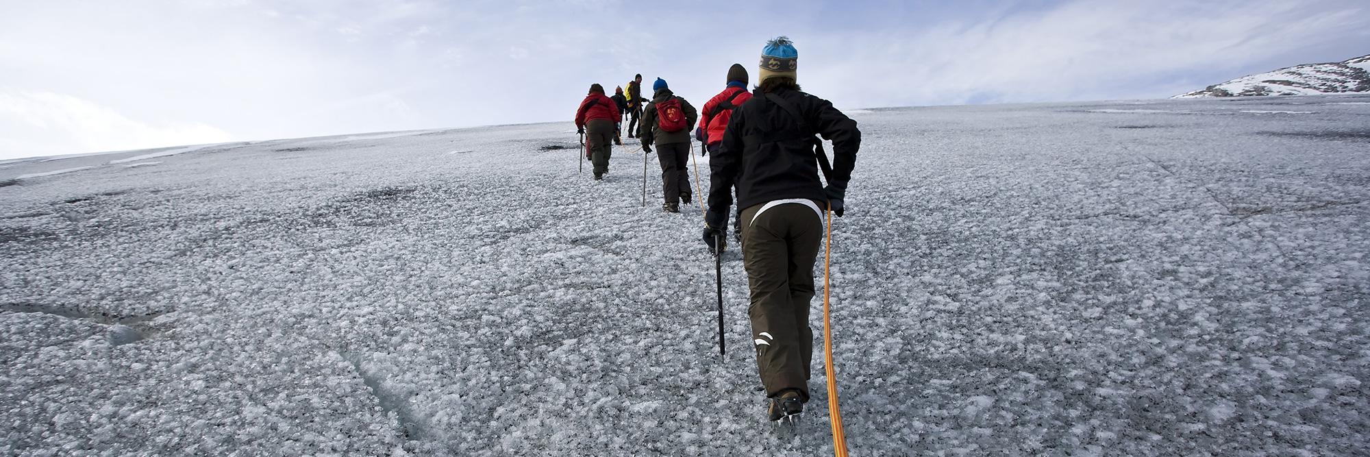 Mini Trekking sur le glacier de Jostedalsbreen