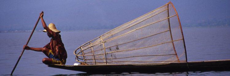Déjeuner éphémère sur le Lac Inle