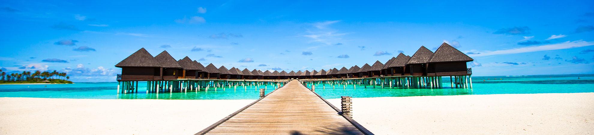 Hôtels sur pilotis aux Maldives