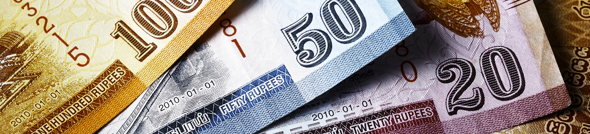 Monnaie au Sri Lanka