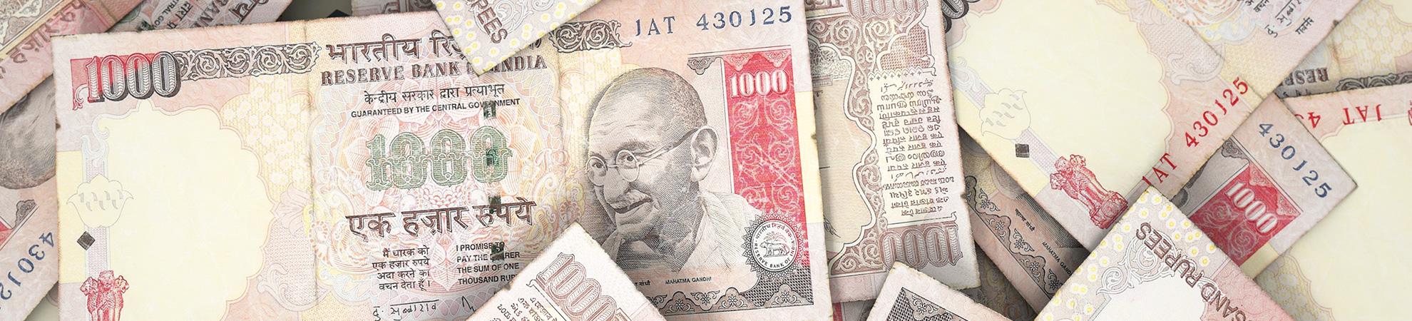 Monnaie en Inde