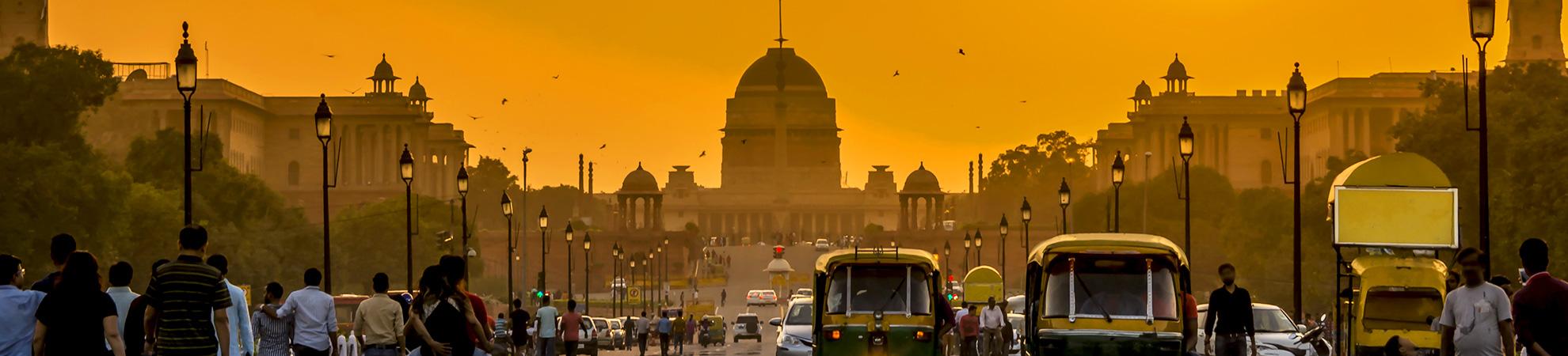 Aller en Inde en voiture