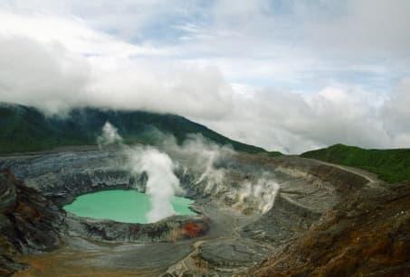 Costa Rica : La Route des Volcans