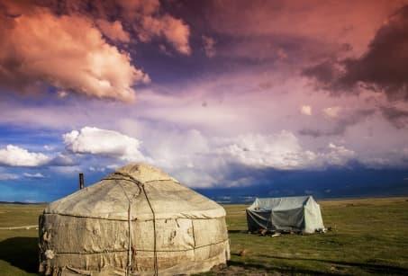 Kirghizie : Sur les traces des nomades jusqu'au lac Song Kul