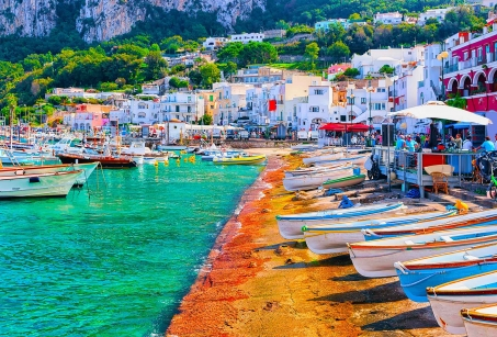 De Naples à Capri : terres de caractère
