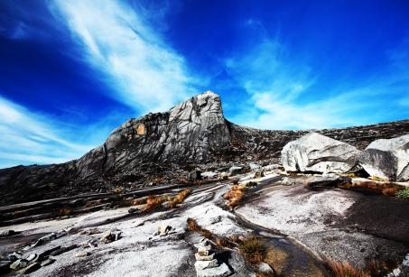 Du haut du Mont Kinabalu