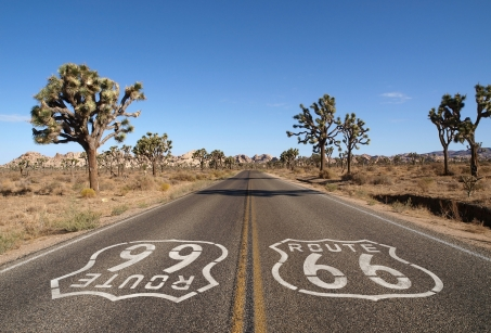 La Route 66, on the Mother Road !