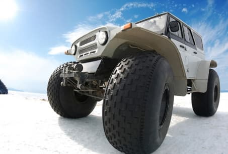 Expedition Hivernale en super-jeep