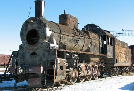 Le Kazakhstan en train