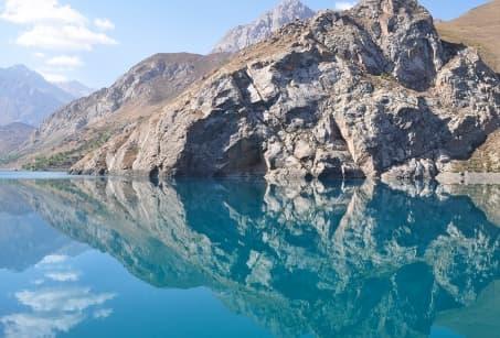 Lacs et montagnes d'Asie Centrale