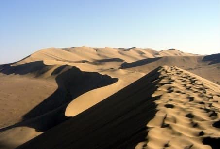 Silence des plaines et dunes chantantes