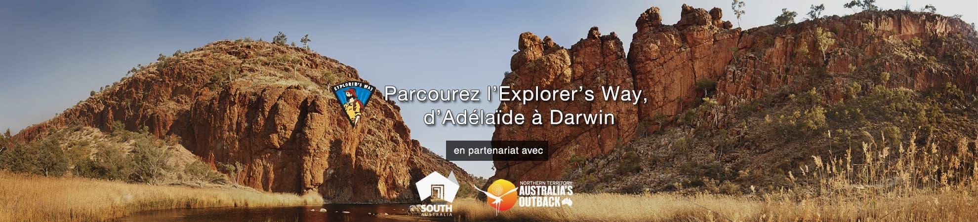 L'EXPLORER'S WAY, D'ADELAÏDE A DARWIN