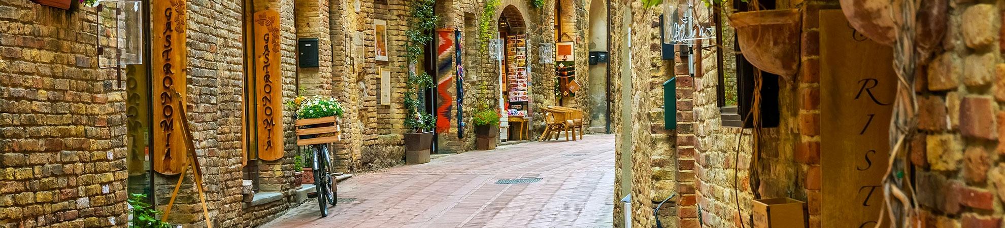 Voyage San Gimignano
