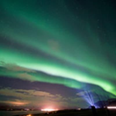 Aurores Boréales à Reykjavik