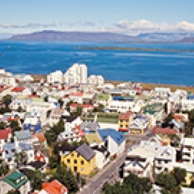 Dîner en baie de Reykjavik