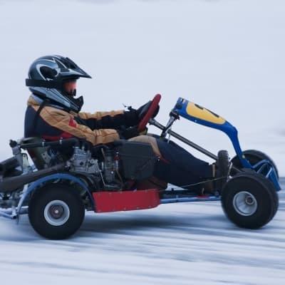 Karting sur glace
