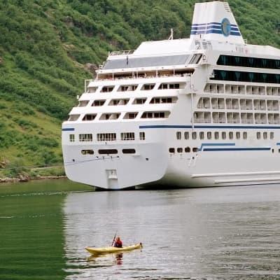 Kayak à Eidfjord