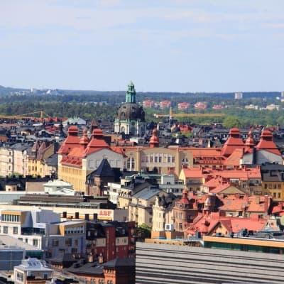 Stockholm depuis les toits de la ville