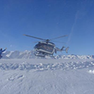Survol en hélicoptère d'Ilulissat