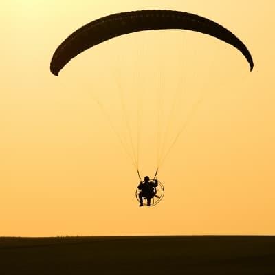 Survol en ULM du désert de Namib