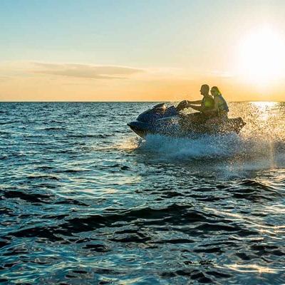 Excursion guidée en motomarine