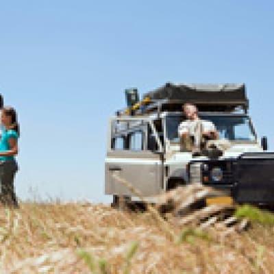 4X4 dans le Damaraland