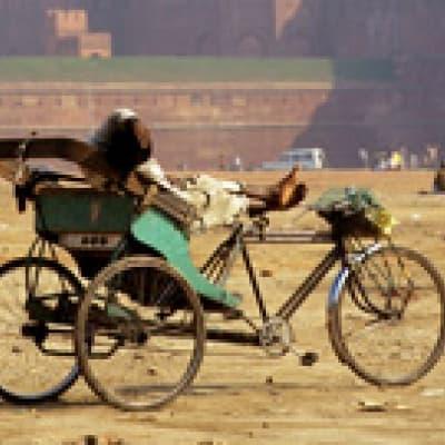 Rickshaw à Dehli