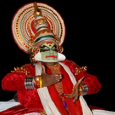 Séance de Kathakali à Cochin