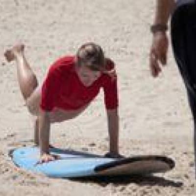 Cours de surf privé