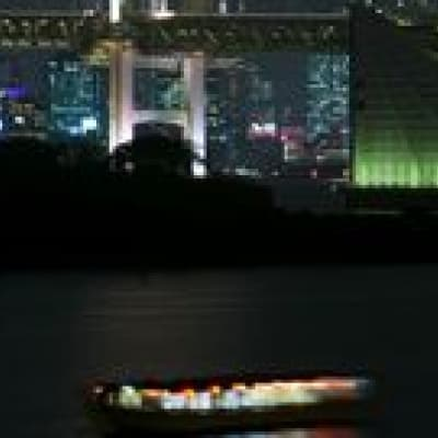 Cruise on the river Sumida in Tokyo