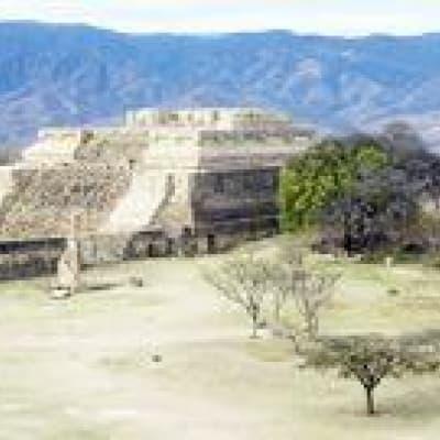 Monte Alban, l'un des berceaux de la civilisation Zapoteque