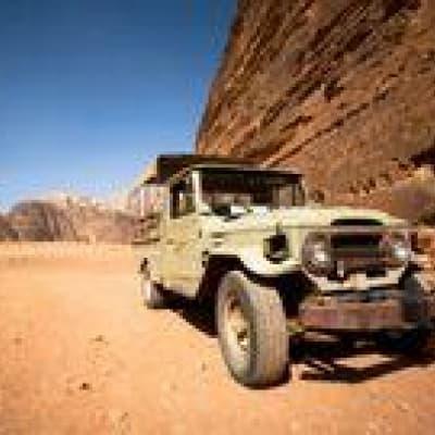 Excursion en 4x4 dans le désert du Wadi Rum
