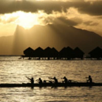 Croisière lagunaire au coucher de soleil