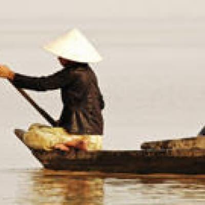 Balade en barque sur le lac Tonle Sap