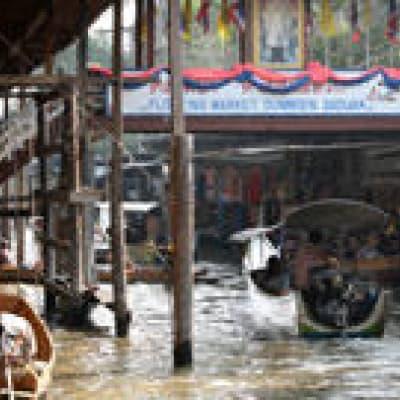 Croisière sur les Khlongs