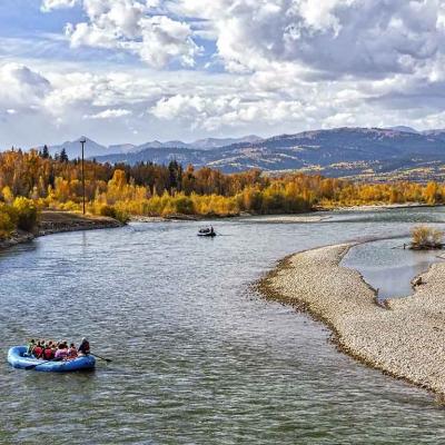 Rafting sur la Snake River