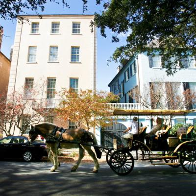Balade en calèche dans le Vieux Charleston