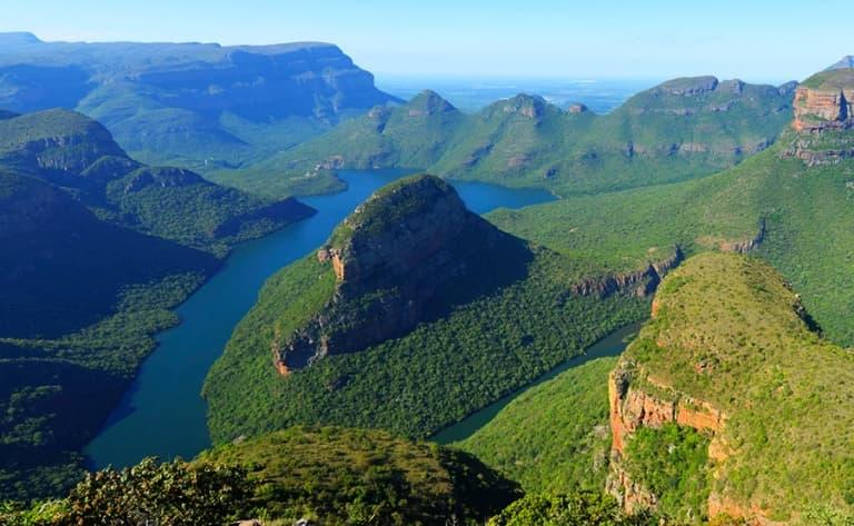 Le vertigineux canyon de Blyde River