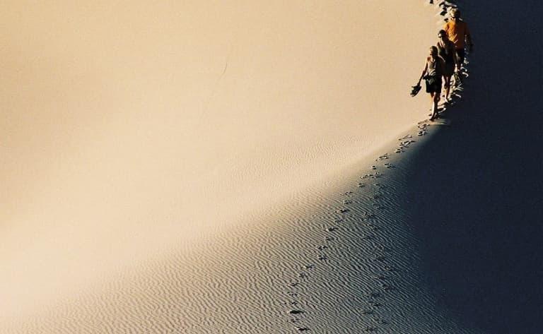Balade sur les dunes