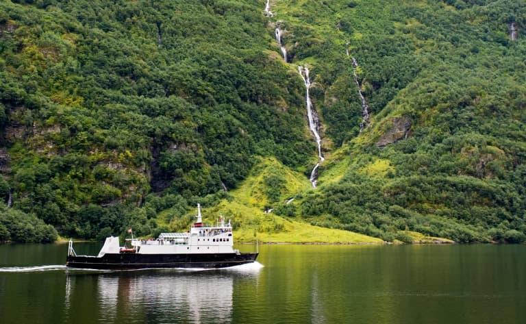 Croisière sur le Nærøyfjord