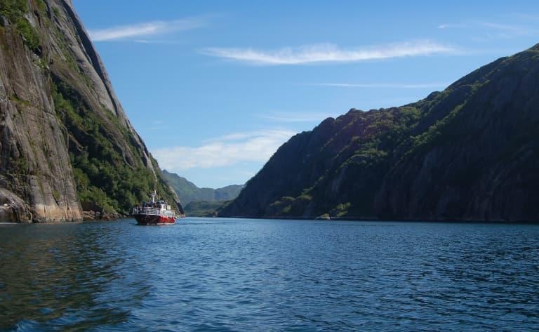 Croisière sur le Trollfjord