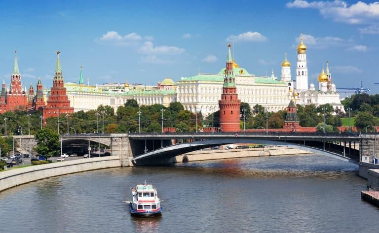 Déjeuner-croisière sur la Moskova