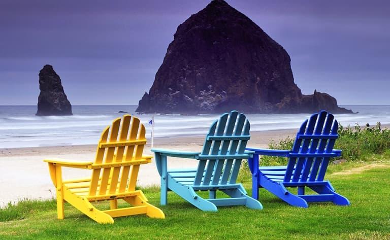 Détente et relaxation sur les plages de Cannon Beach