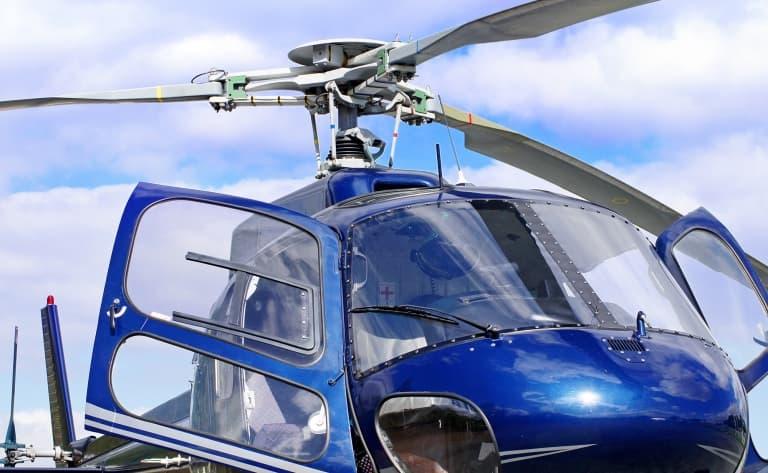 Hélicoptère à Bergen