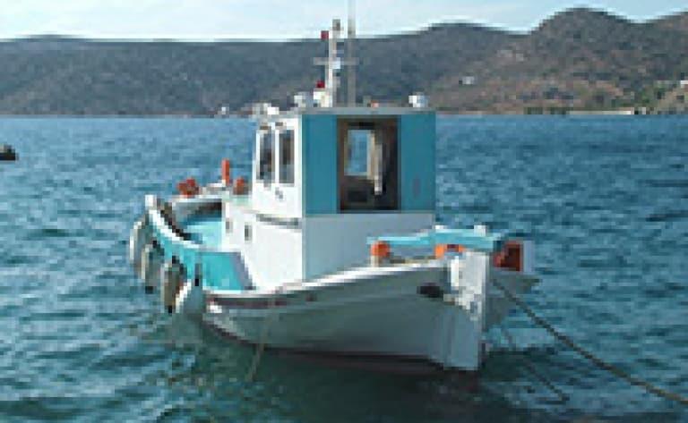 Partie de pêche en baie de Disko