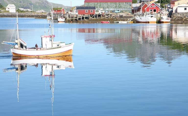 Partie de pêche sur le Geirangerfjord