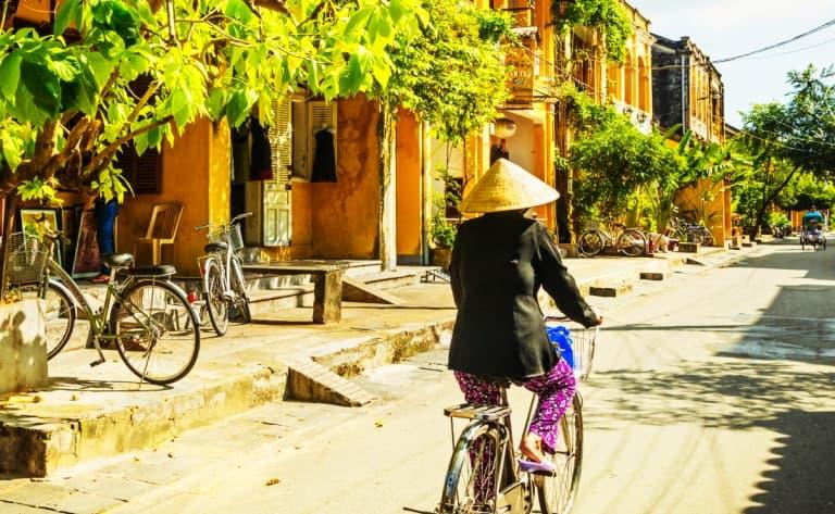 La campagne à bicyclette