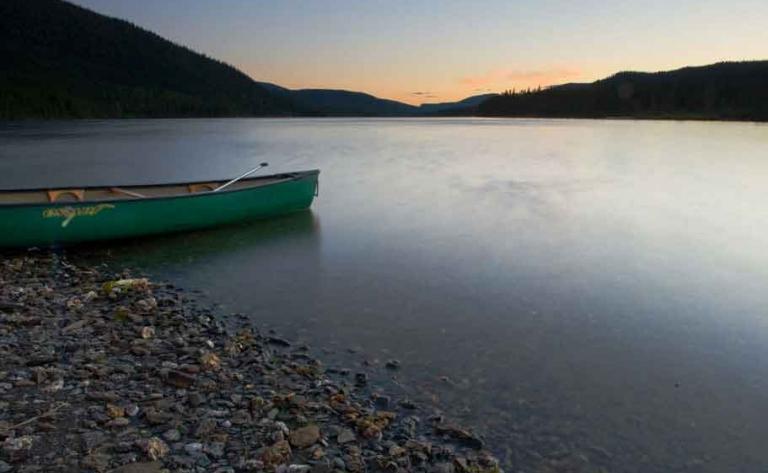 Location de Canot sur le lac Cascapédia